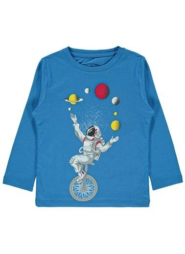 Cvl Erkek Çocuk Sweatshirt  Mavi
